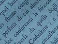 Eighteenth Century Text: macro shot 5