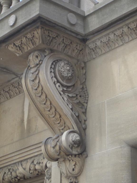 Carved Stone Corbel Image 576x768 Pixels