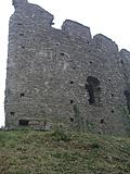 [picture: Restormel Castle 42: Bitten-off Wall]