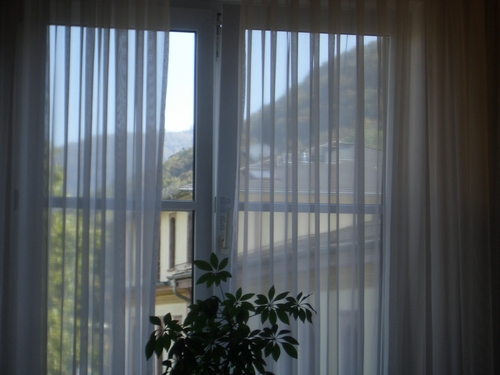 Hotel Room Window : Through the hotel room window image pixels