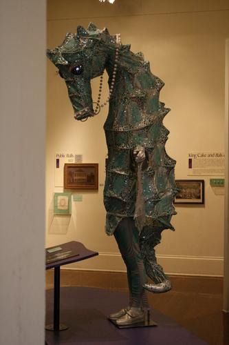 [Picture: Sea-horse Mardi Gras Costume 1]