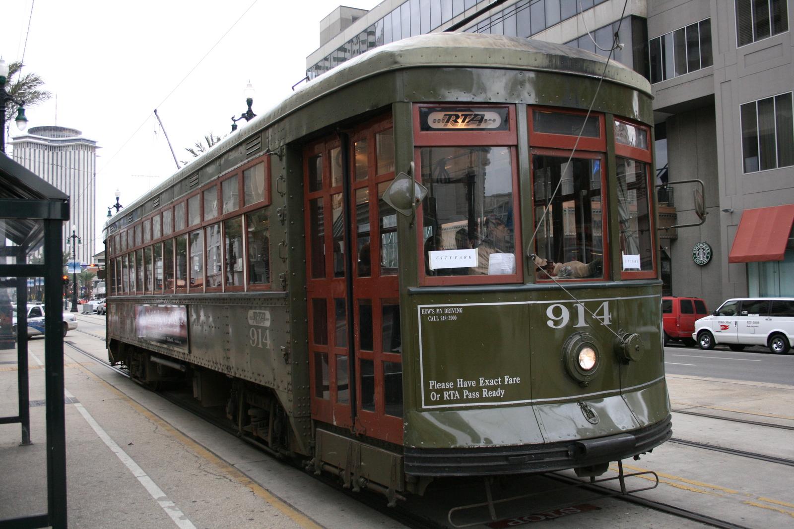 new orleans tram 3. Black Bedroom Furniture Sets. Home Design Ideas