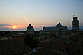 [picture: View from the Hotel Balcony 1: Pisa Sunset]