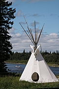 [picture: Teepee beside the River 1]