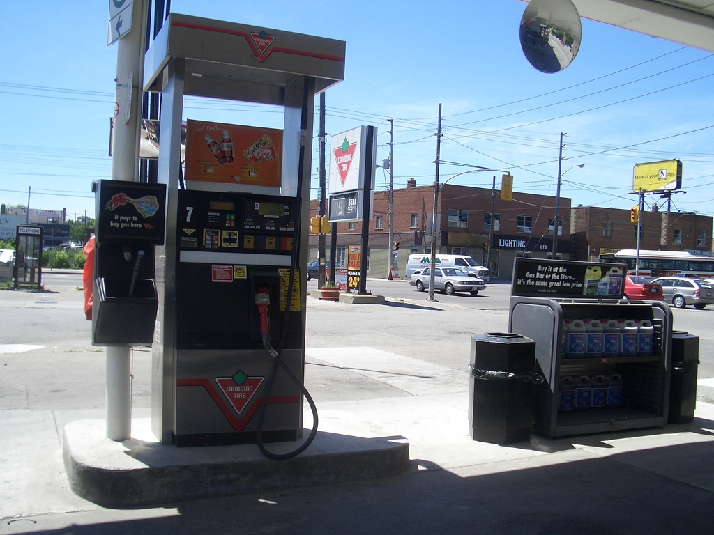 [Picture: Filling Station]