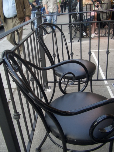 [Picture: Patio chairs]