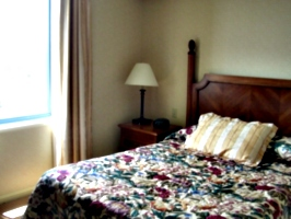 [Picture: Hotel bed 3]
