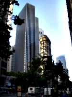 [Picture: Contrasting Architecture]