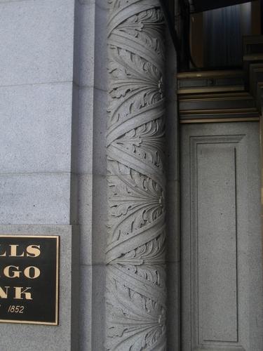 [Picture: Wells Fargo Bank Decorative Pillar 2]