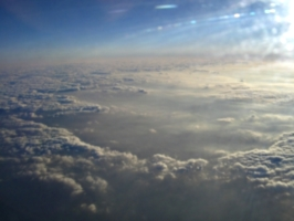 [picture: sky from 'plane]