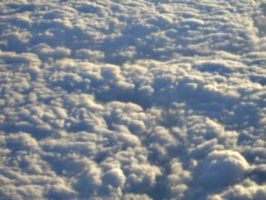 [picture: clouds from 'plane]