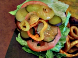 [picture: Colourful burger 2]