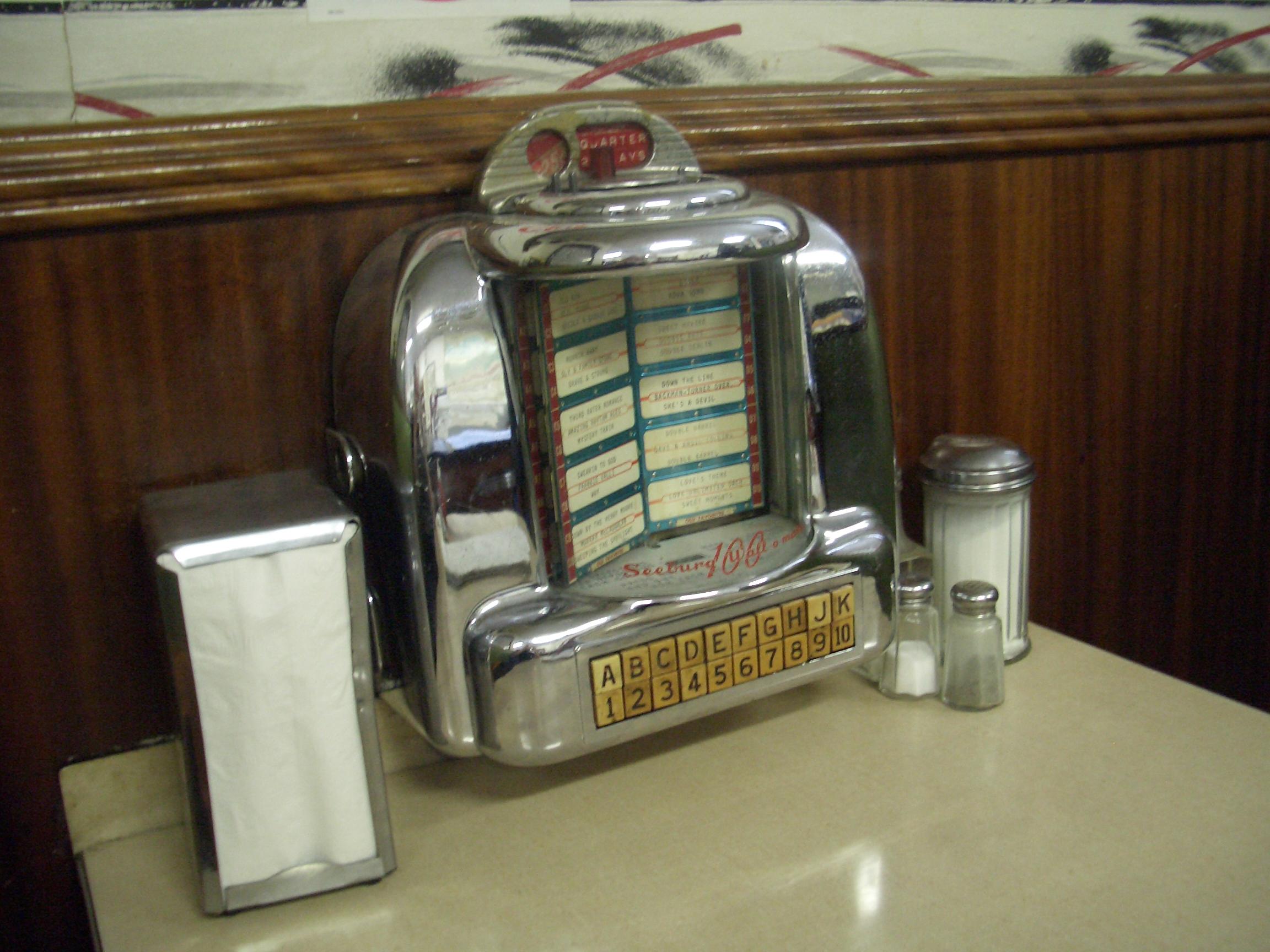 [Picture: Diner Juke Box]