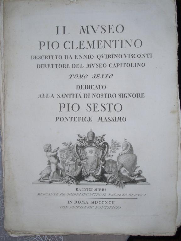 [Picture: IL MVSEO PIO CLEMENTINO]