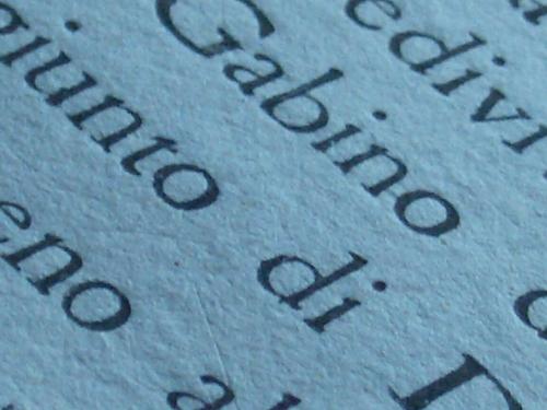 [Picture: Eighteenth Century Text: macro shot 2]