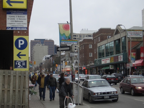 [Picture: Church Street at Maitland]