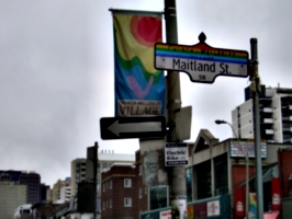 [Picture: Maitland Street: Church Wellesley Village]