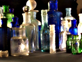 [picture: Collection of old bottles 3]