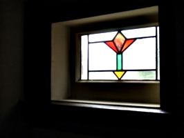 [picture: Art deco stained glass window 2]