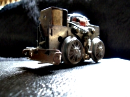 [picture: Motor for model railway engine 4]
