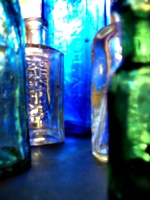[picture: Blue glass in Sunlight]