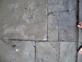 [picture: Broken pavement 2]