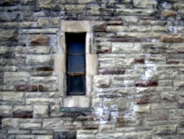 [picture: Window in stone wall]