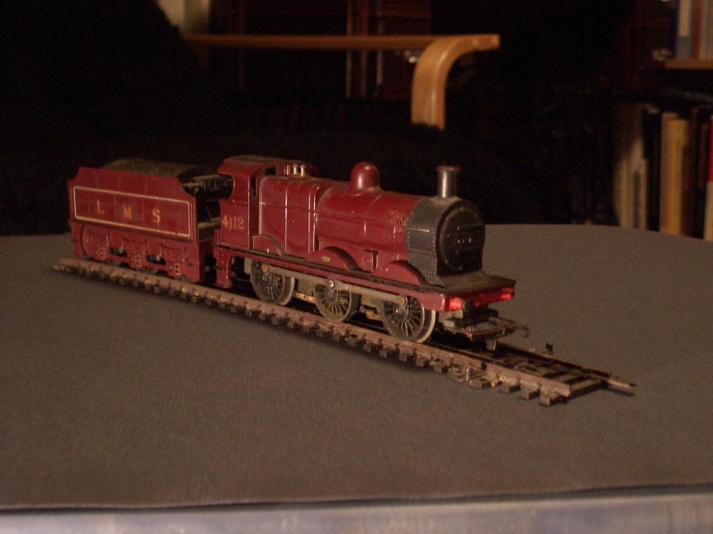 [Picture: Model railway engine]