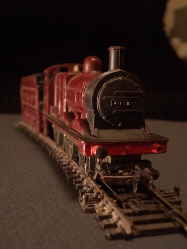 [Picture: Model railway engine 2]