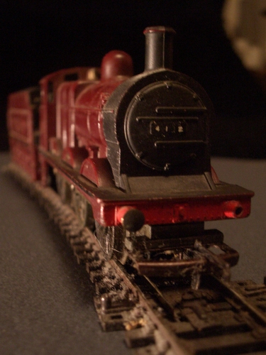 [Picture: Model railway engine 3]