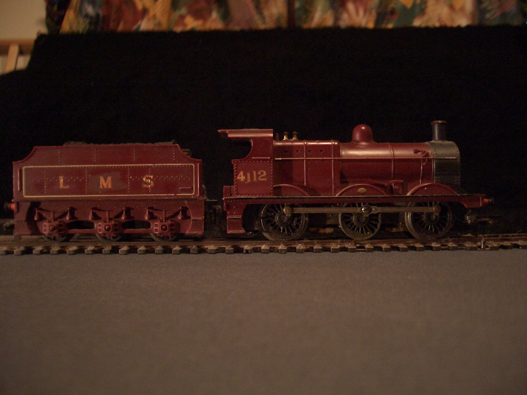 [Picture: Model railway engine 4]