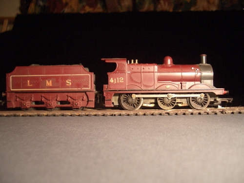 [Picture: Model railway engine 5]