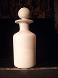 [Picture: Antique white glass bottle 3]