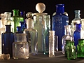 [Picture: Collection of old bottles 2]
