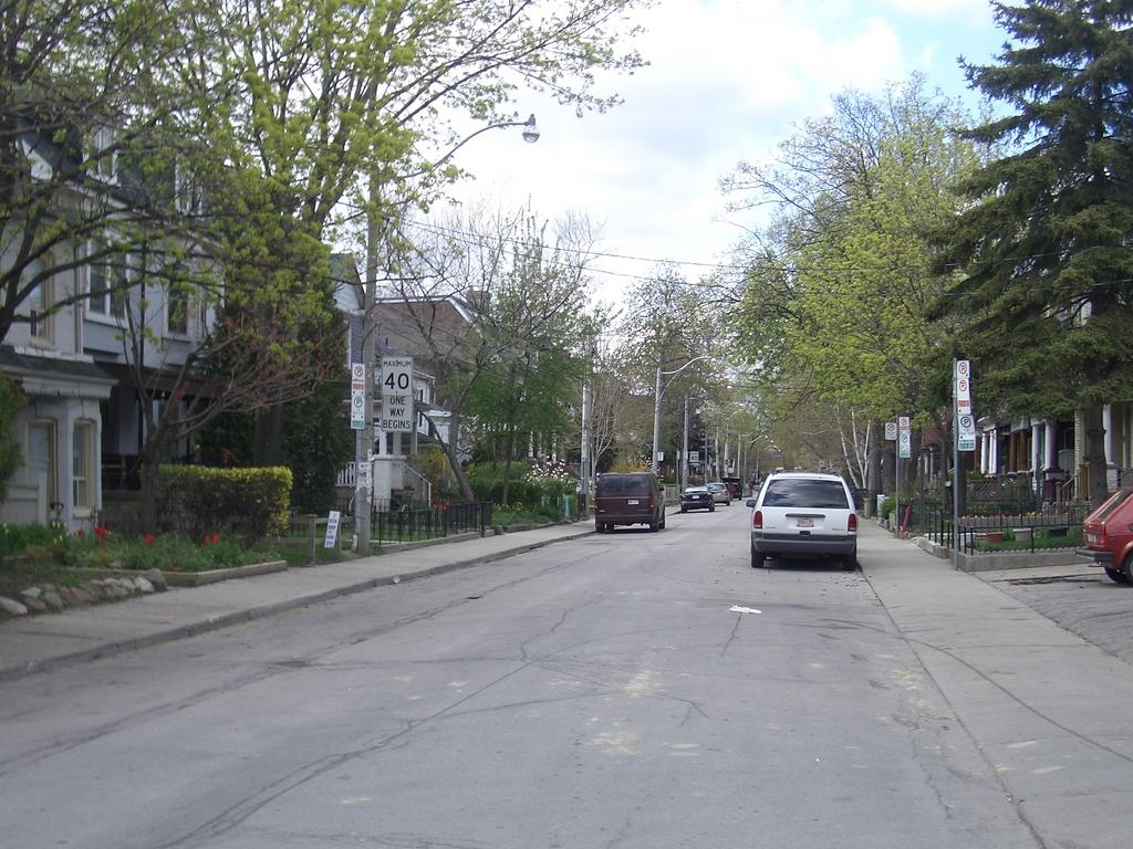 [Picture: Major Street, Toronto]