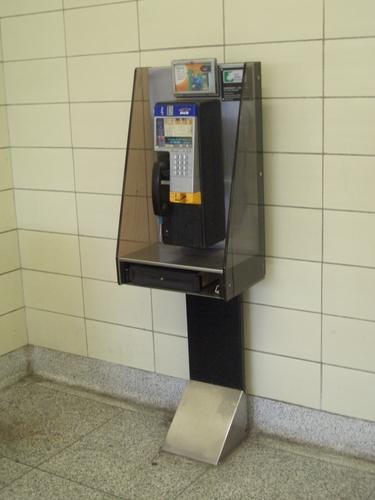 [Picture: Public telephone 3]