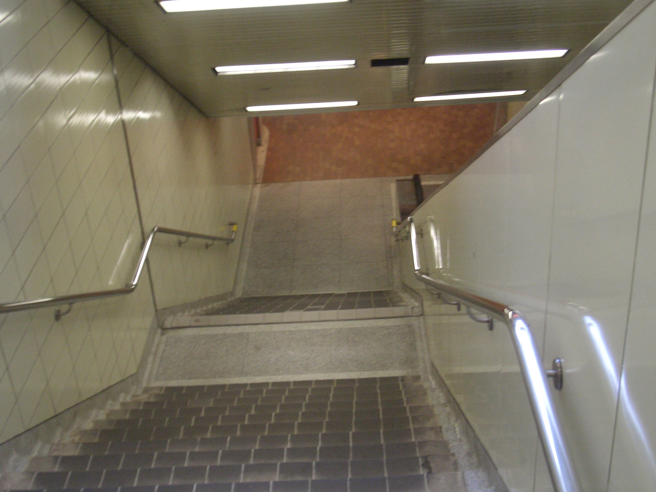 [Picture: Stairs down]