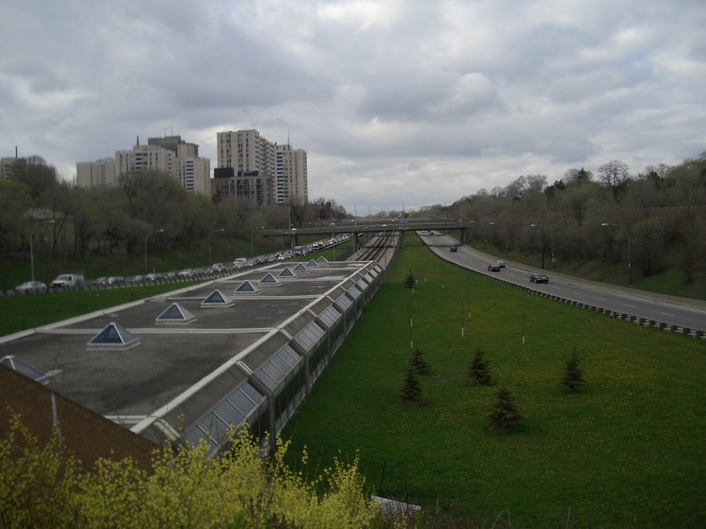 [Picture: Eglinton West subway station: view]