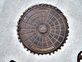 [picture: Manhole cover]