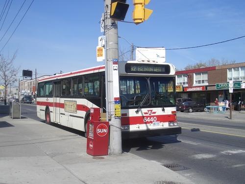 [Picture: TTC Bus]