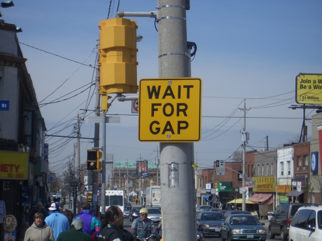 [Picture: Wait for Gap 2]