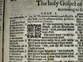 [picture: John 1, from the Geneva Bible]