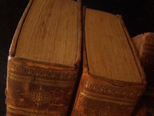 [Picture: More antique books]