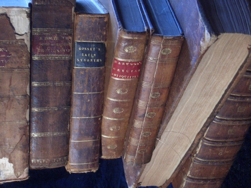 [Picture: Another pile of old books 2]
