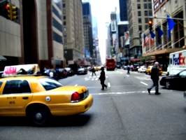 [picture: New York street]