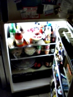 [picture: Open Fridge]
