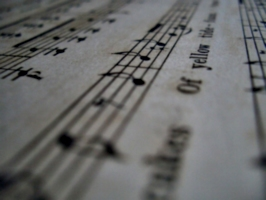 [picture: Music close-up]