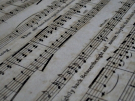 [picture: Music close-up 4]