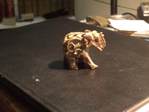 [Picture: Carved Elephants 3]