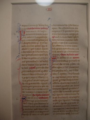 [Picture: Manuscript Leaf]